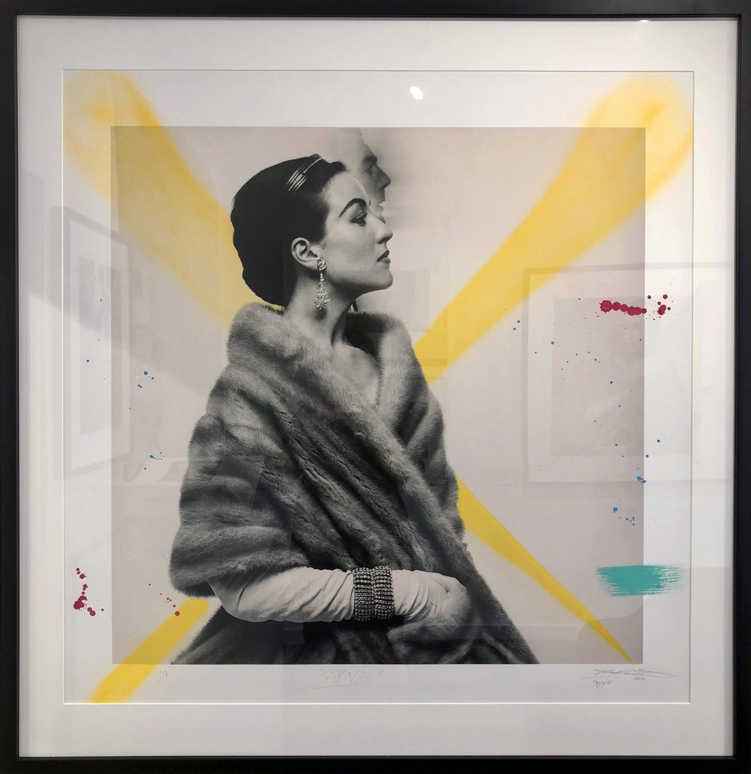 gone - RJ Williams X Helmut Newton - Fine Art Global